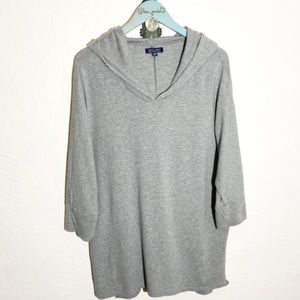 American Eagle soft and sexy hooded tunic shirt
